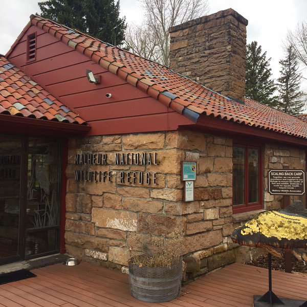 Malheur National Wildlife Refuge headquarters.