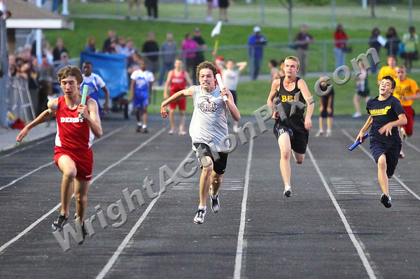 2011 06 02 Boys 4 x 100m Relay Finals