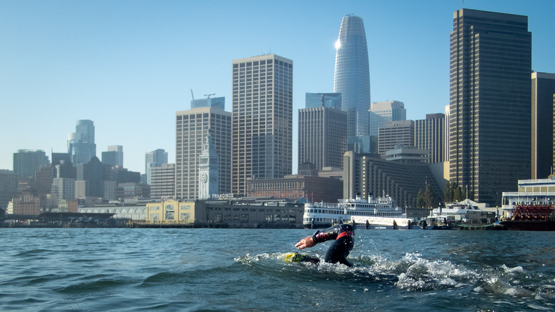 Ferry Building (and the ever-imposing SalesForce Tower)