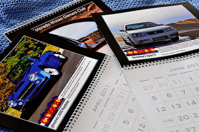 2011 Colorado Nissan Owners Club Calendar