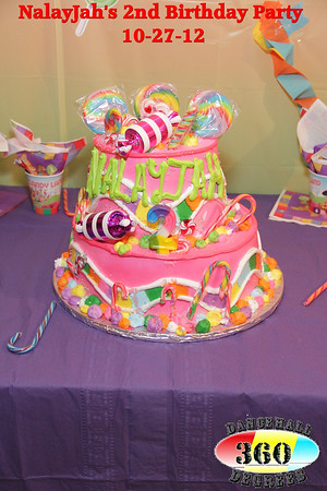 Na'layjah's 2nd Birthday Party @ Coco's Place 10-27-12