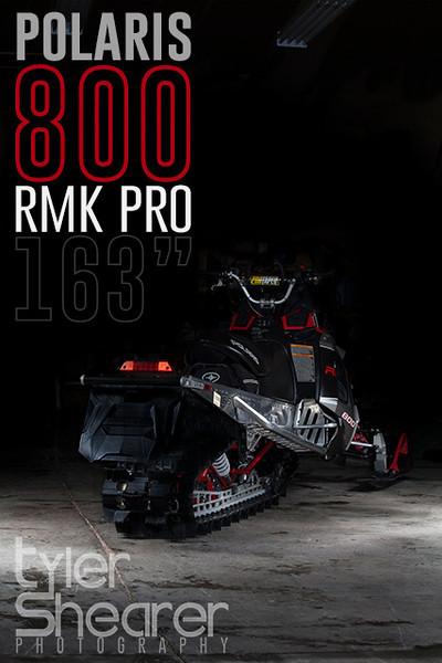 """POLARIS 800 RMK PRO 163"""""""