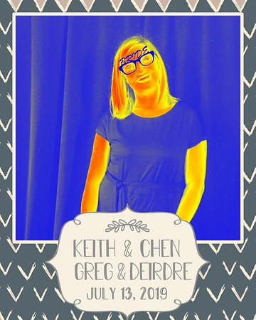 Keith & Chen, Greg & Deidre (07/13/19)