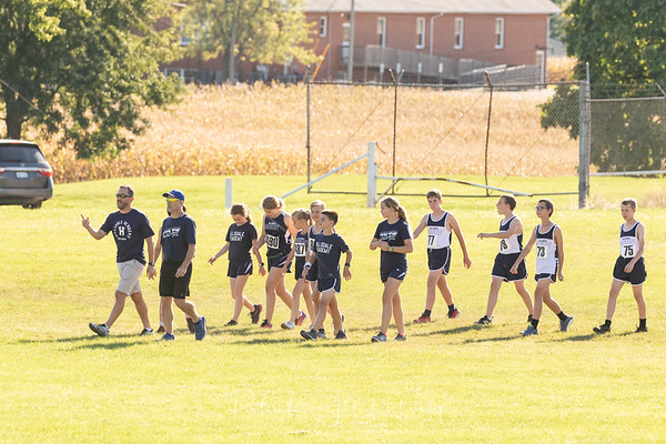 2021-09-29 Hillsdale Academy JH and Varsity Cross Country at Pittsford