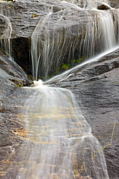 Lacey Falls, Broughton Archipelago, British Columbia, Canada