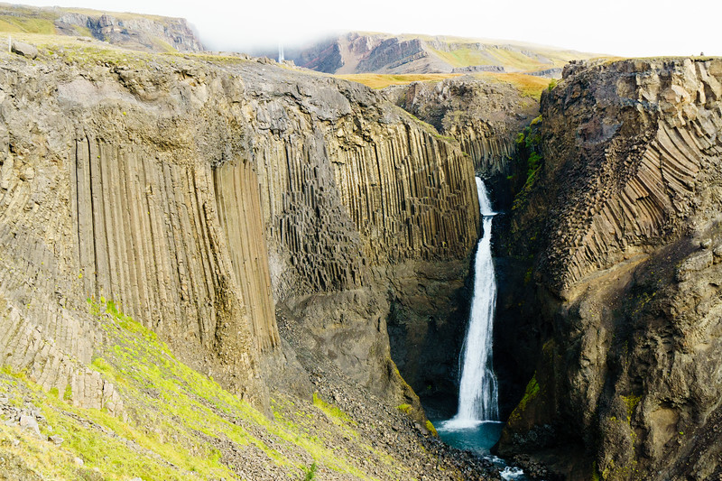 Litlanesfoss and Hengifoss, Iceland.