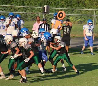 Jr high football Deridder