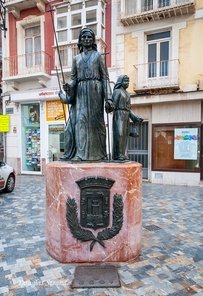 Cartagena, Spain - Monumento al Procesionista