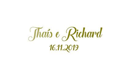 Thais & Richard 16.11.2019