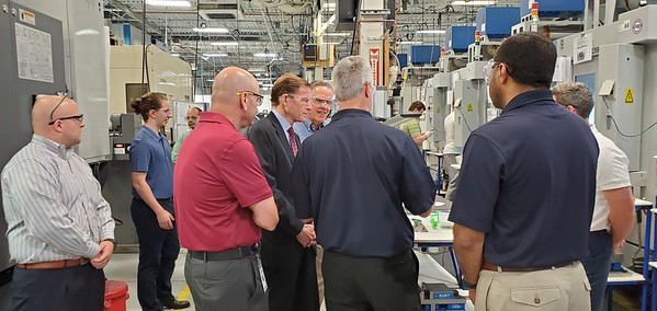 Blumenthal and Connecticut Tool & Manufacturing Employees