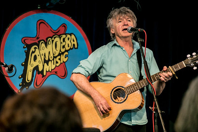 Neil and Liam Finn at Amoeba Records
