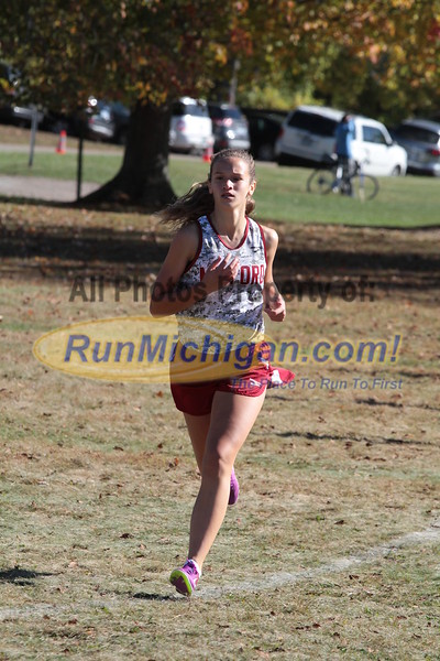 Girls JV 0.25 mile - 2015 Oakland County XC Championship