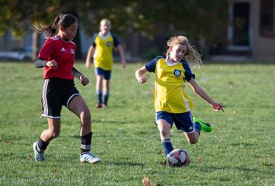 Caitlins soccer game Nov 3rd 2019