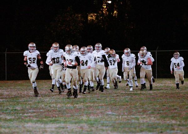 Varsity Football vs East