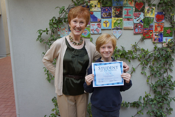 Students of the Month, February 3, 2012