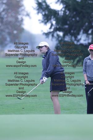 2014-10-01 Girls Division I Golf