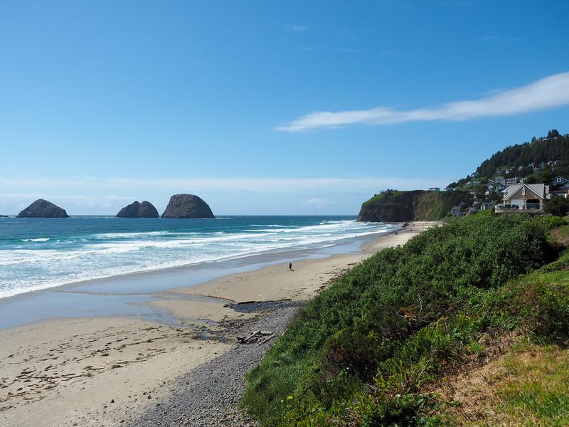 Oregon coast near Oceanside