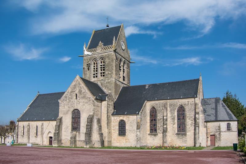Saint-Mere-Eglise church