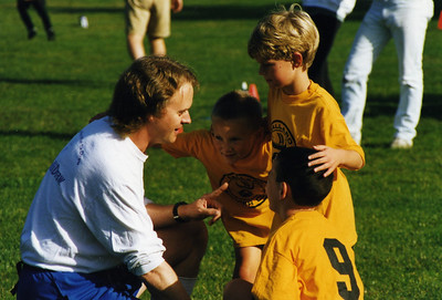 1997 Soccer with Jackson and Brian