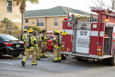 Structure Fire - Spring Hollow Loop, SpringHill, FL -1/31/21