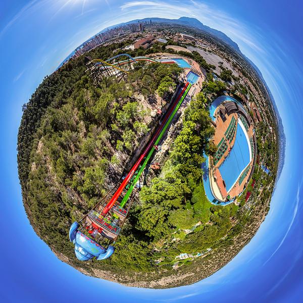 Vertigo Water Slide – Aqualandia Benidorm