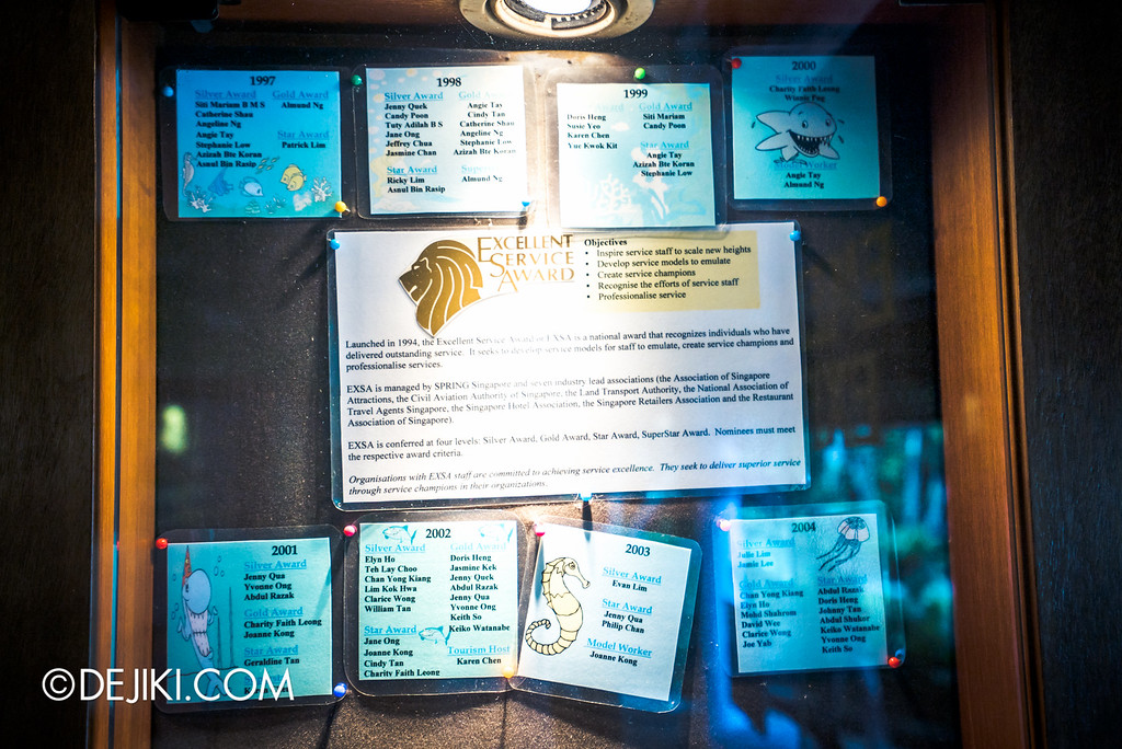 Underwater World Singapore - Oceanarium's Excellence Awards