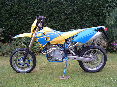2004_10_07 Stock 2004 Husaberg Supermoto