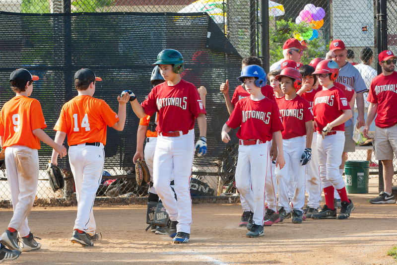 The Nationals struggled on both offense and defense in a 2-11 loss to the Orioles. They are now 7-4 for the season. 2012 Arlington Little League Baseball, Majors Division. Nationals vs Orioles (19 May 2012) (Image taken by Patrick R. Kane on 19 May 2012 with Canon EOS-1D Mark III at ISO 400, f11.0, 1/100 sec and 185mm)