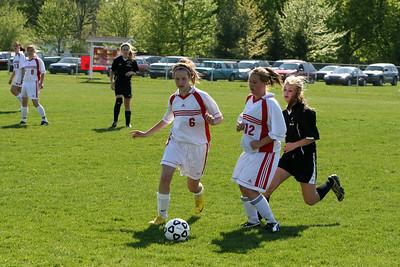 Girls JV Soccer - 5/3/2010 Tri-County