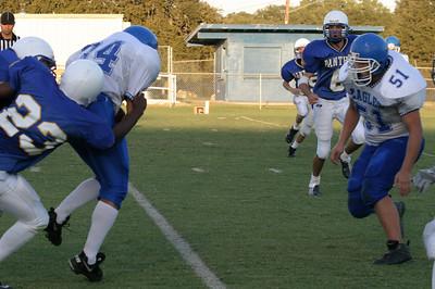 Pflugerville Panthers Blue vs. Georgetown Eagles, October 23, 2003