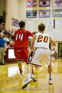 Basketball SHS vs MtView 2-21-2012