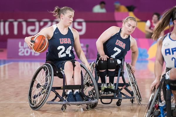 8-29-2019 Women's ARG vs. USA