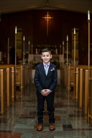 Rocco's 1st Communion