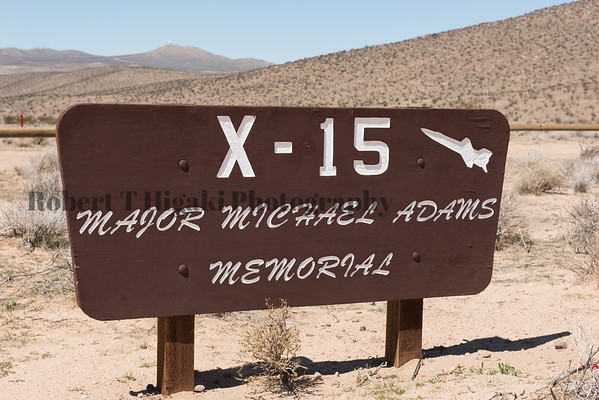 X-15 Major Michael Adams Memorial
