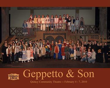 Quincy Community Theatre - Gepetto & Son