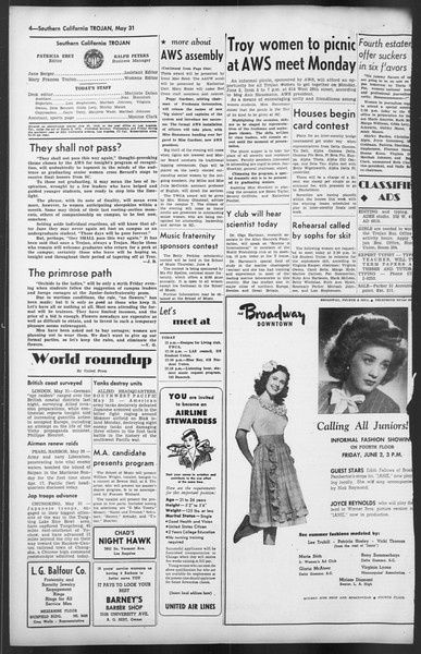 The Trojan, Vol. 35, No. 125, May 31, 1944
