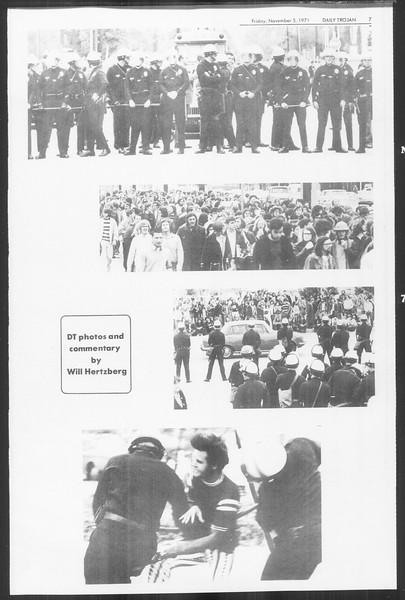 Daily Trojan, Vol. 64, No. 32, November 05, 1971