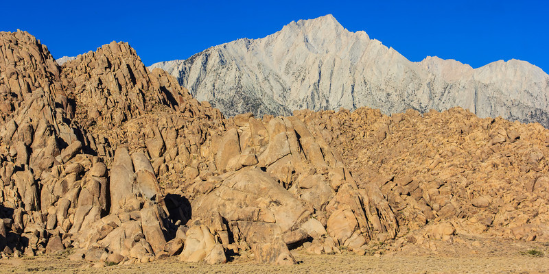 Landscape of Alabama Hills