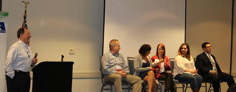 Regulatory Roundtable - Dan Padgett, Moderator; Doug Raymond, Lori Parker, Mae Hrycak, Diana Saucedo, and Nicholas Georges
