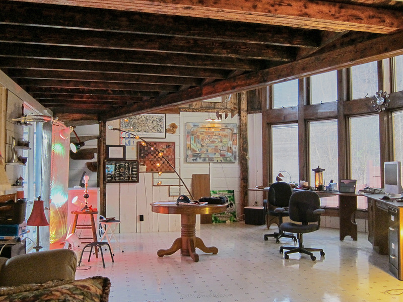 Larry Lebin's studio. Nov 13 2010