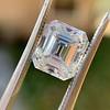 3.10ct Vintage Emerald Cut Diamond, GIA H VS1 36