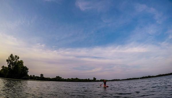 Jay's First Paddle on Nala