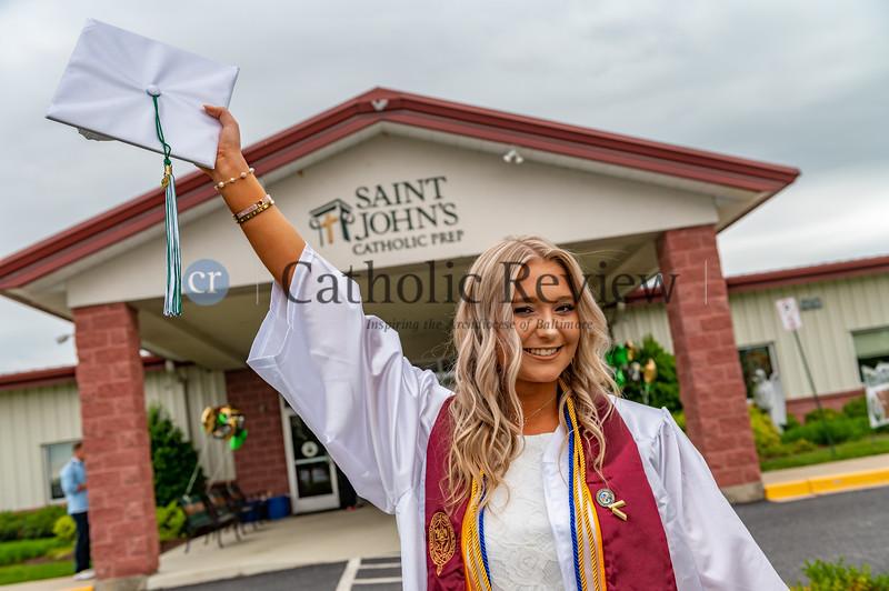 St. John's Catholic Prep Class of 2021 Graduation