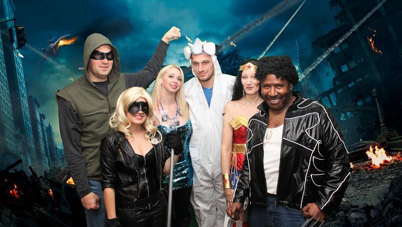 Green Arrow, Black Canary, Walter White (Heisenberg) his Meth,Wonder Woman and Wolverine.