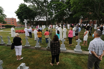 Providence College cemetery reconsecrated following vandalism