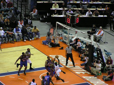 2005 April 16 Bobcats v. Knicks