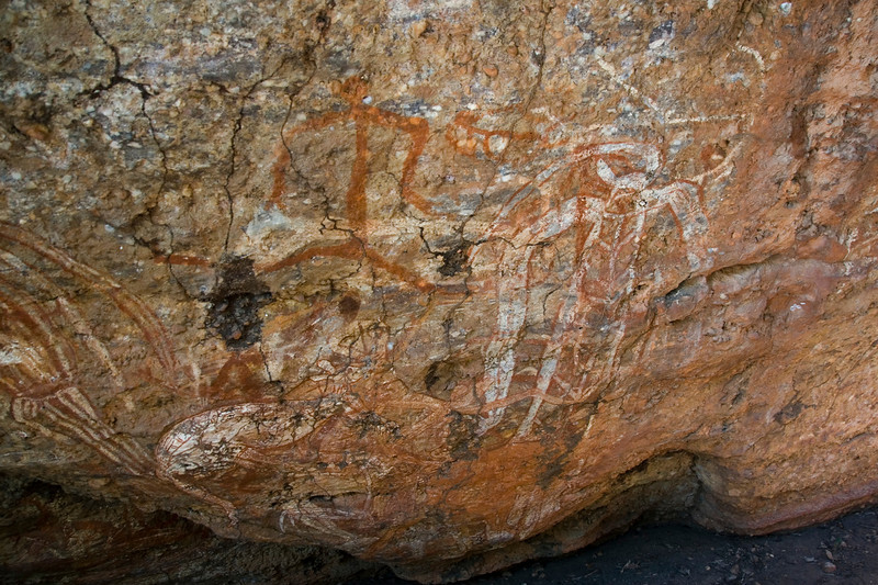 Rock Art 3, Anbangbang, Kakadu National Park - Northern Territory, Australia
