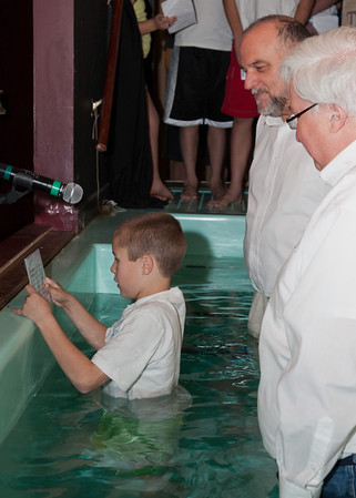 2011 Thanksgiving Baptisms