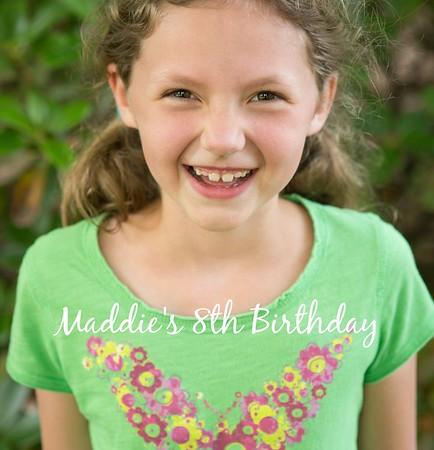 Maddies 8th Birthday