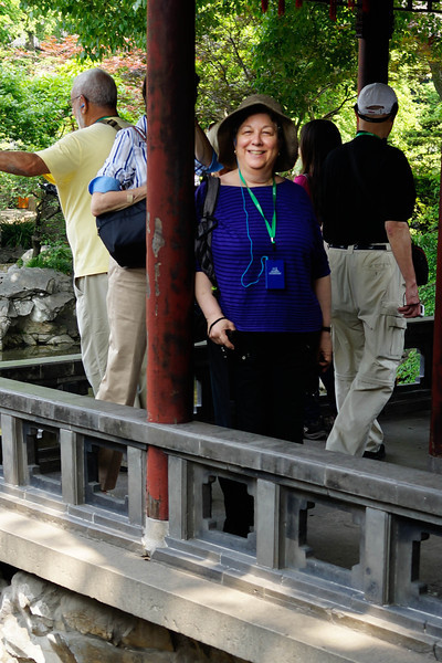 Renee Mirsky at Yu Garden, Shanghai